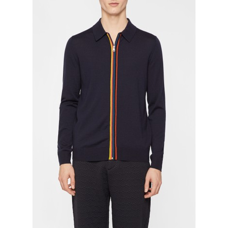 Paul Smith Gents Cardigan Zip Through