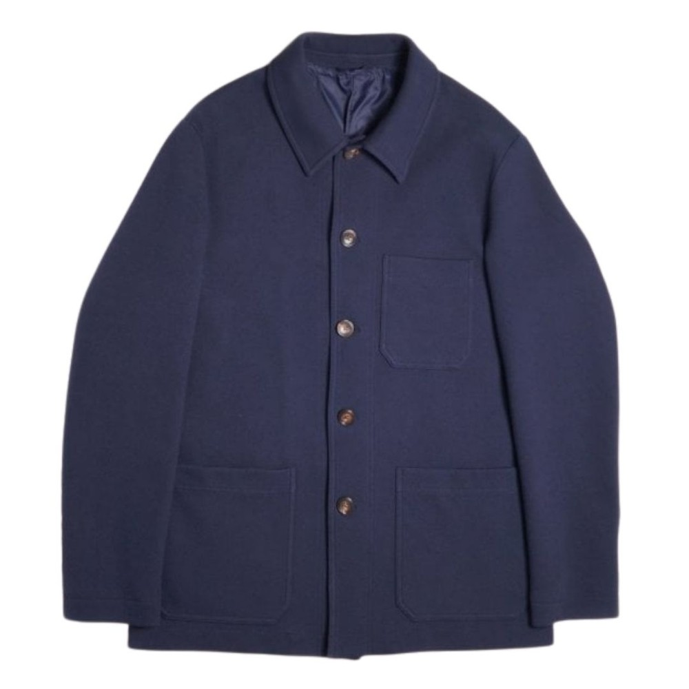 Circolo Shirt Jacket Blue