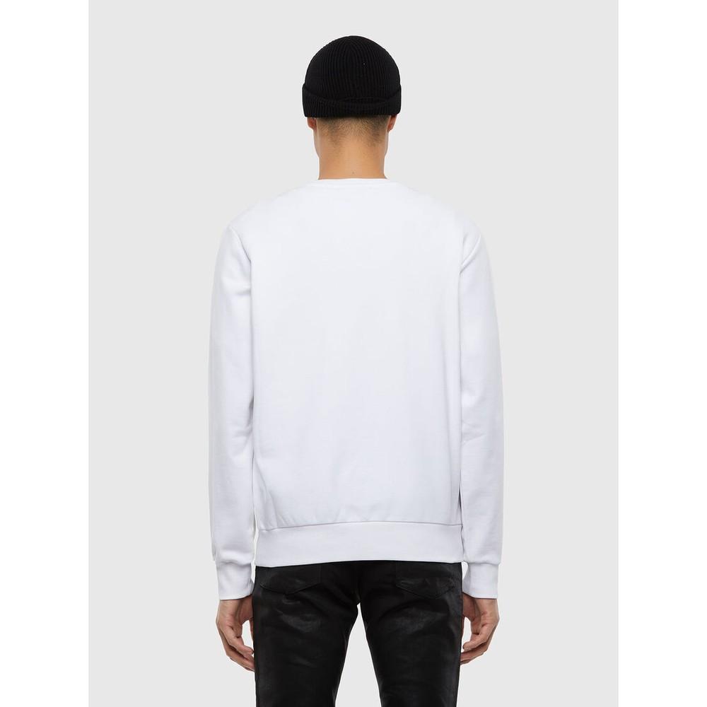 Diesel S-Girk-N80 Sweatshirt White