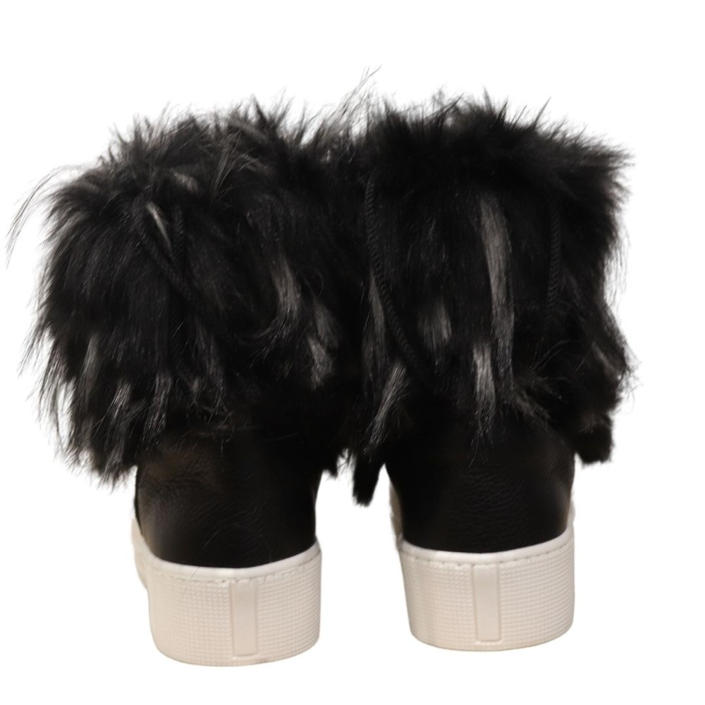 Aristocrat Lumiere Furry Moon Boot Black