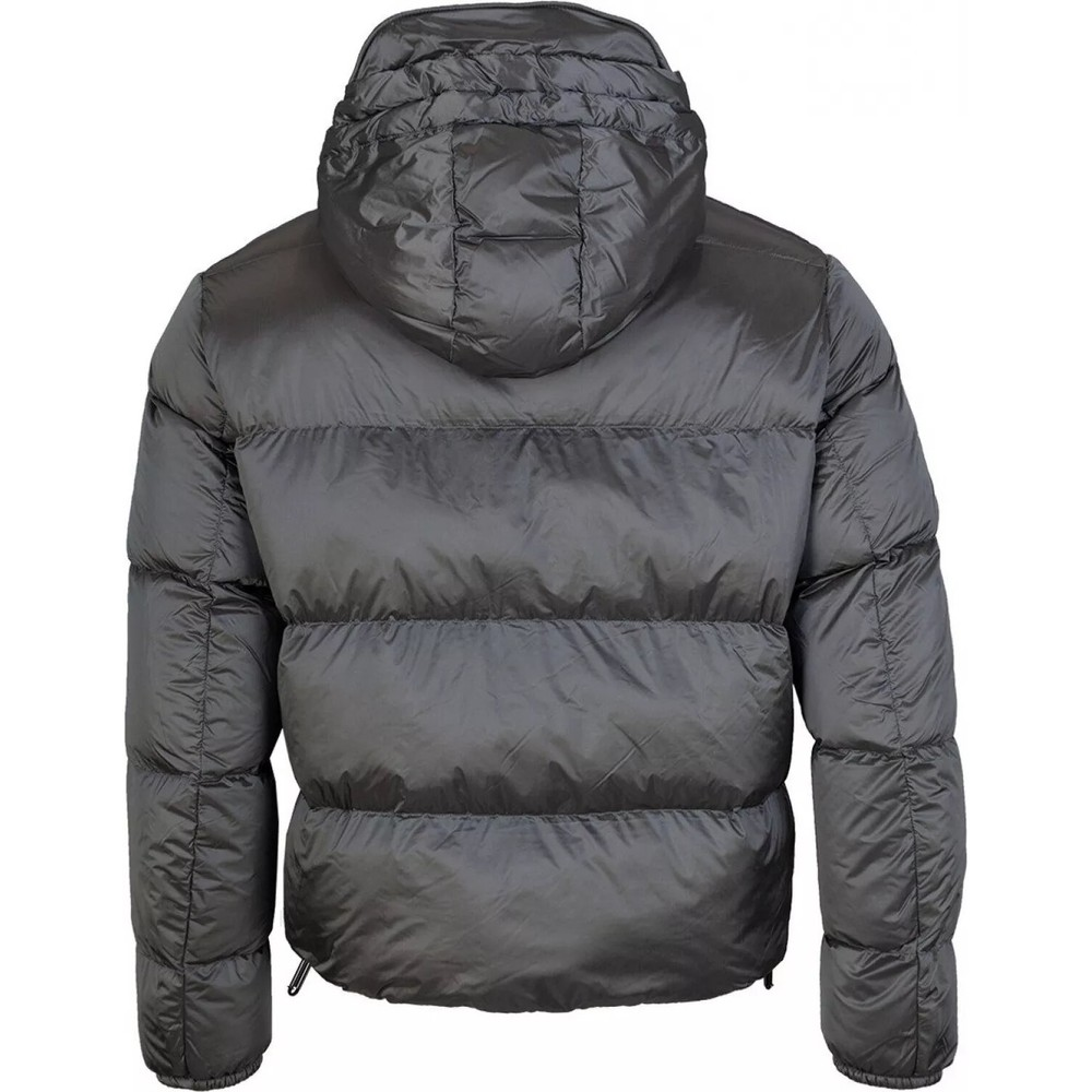 Emporio Armani Down Jacket Grey Metallic