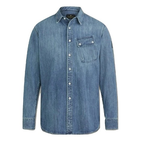 Belstaff Pitch Washed Denim Shirt