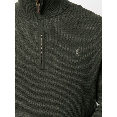 Ralph Lauren Menswear Textured Half Zip Jumper
