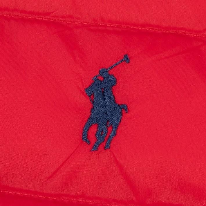 Ralph Lauren Menswear Terra Gilet Red