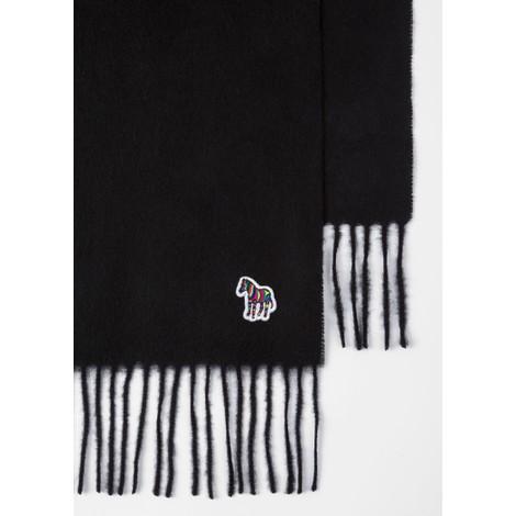 PS Paul Smith Zebra Logo Wool Scarf