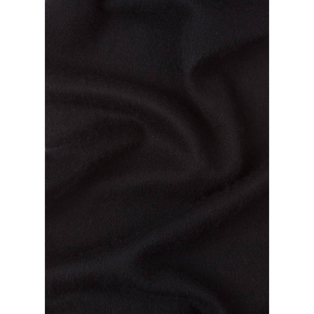 PS Paul Smith Zebra Logo Wool Scarf Black