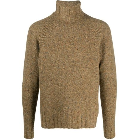 PS Paul Smith Flecked Pullover Roll Neck