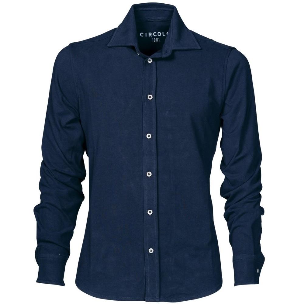 Circolo Camicia Jersey Blue