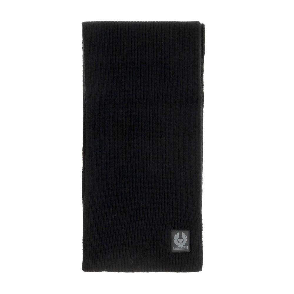 Belstaff Portlock Wool Scarf Black