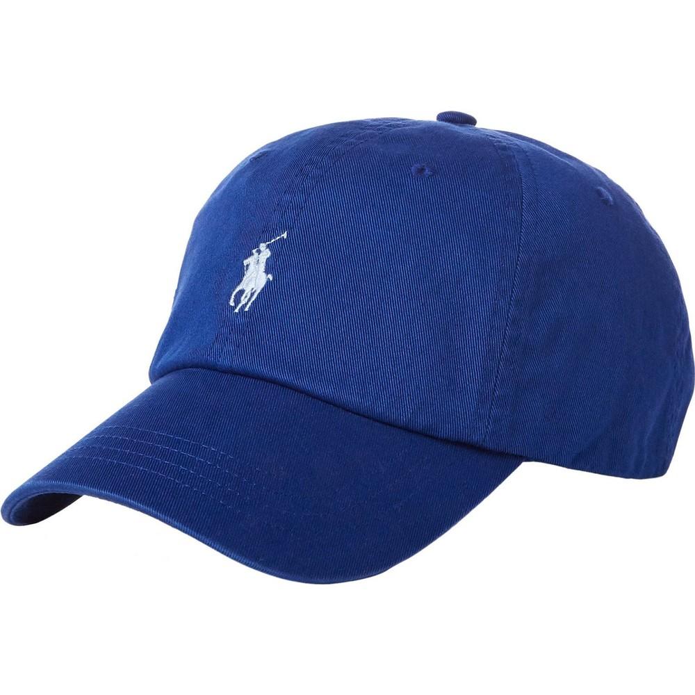 Ralph Lauren Menswear Baseball Cap Blue