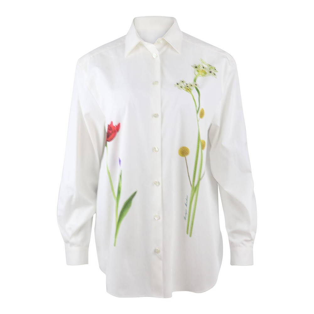 Moschino Boutique Fantasy Print Shirt White