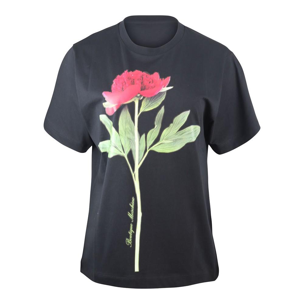 Moschino Boutique Botanic T-Shirt Black