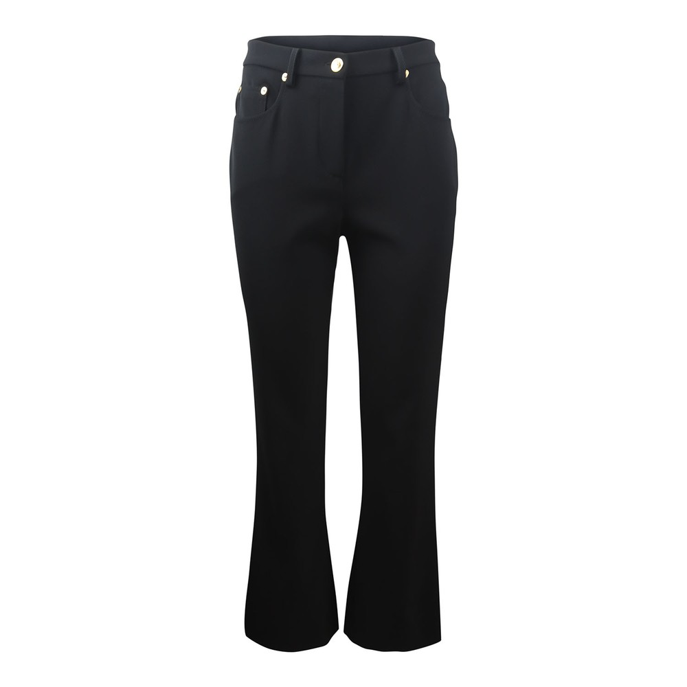 Moschino Boutique Kick Flare Trousers Black