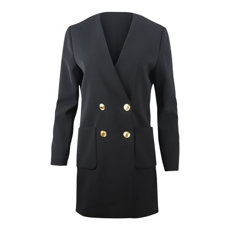 Moschino Boutique Longline Double Breasted Blazer