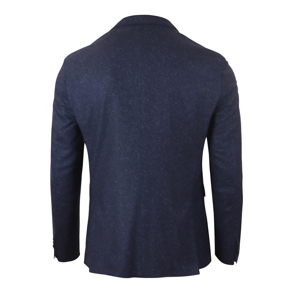Hugo Boss Hadik2 Donegal Tweed Jacket Dark Blue