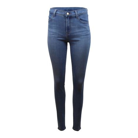 J Brand Maria High Rise Skinny Earthen Jeans