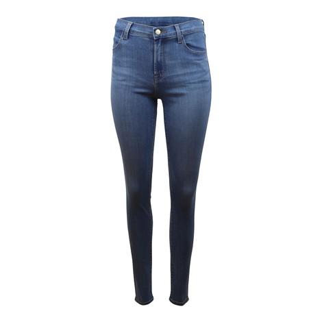 J Brand Maria High Rise Skinny Earthen Jeans