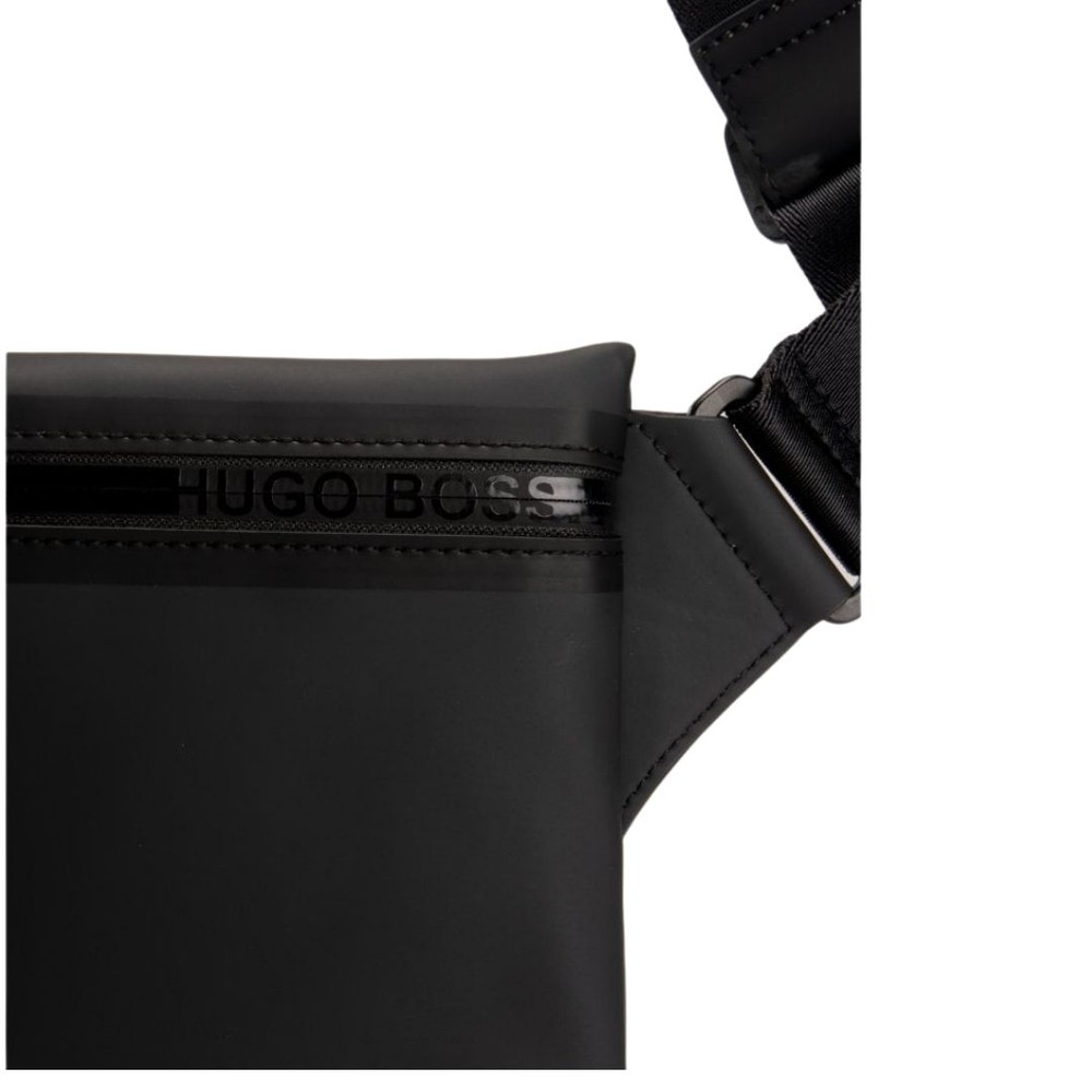 Hugo Boss Hyper Zip Envelope Bag Black