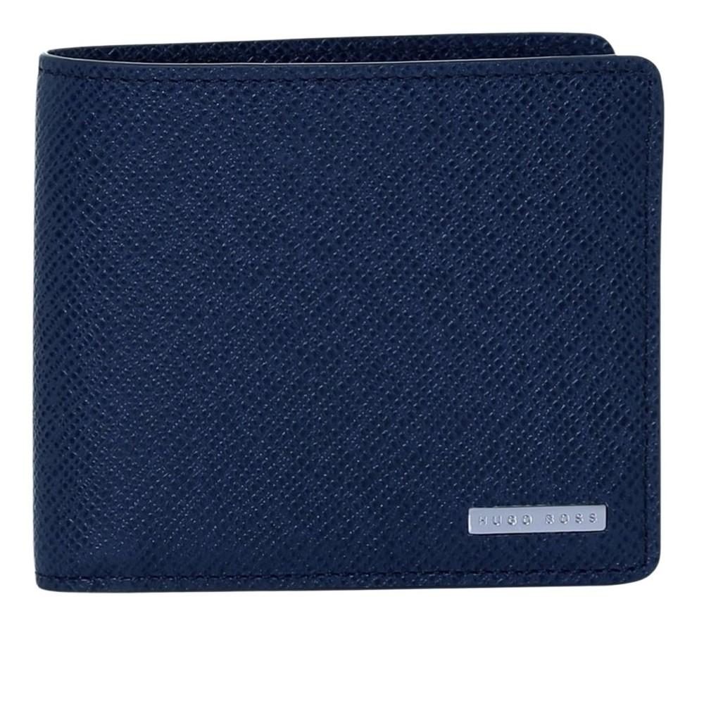 Hugo Boss Signature_8 cc Wallet Blue