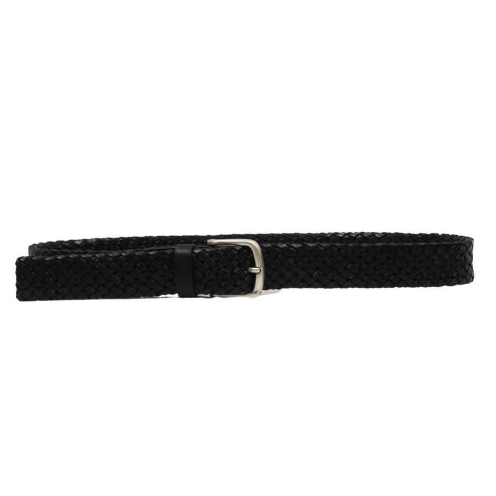 Hugo Boss Sash-Wn2_Sz35 Woven Belt Black