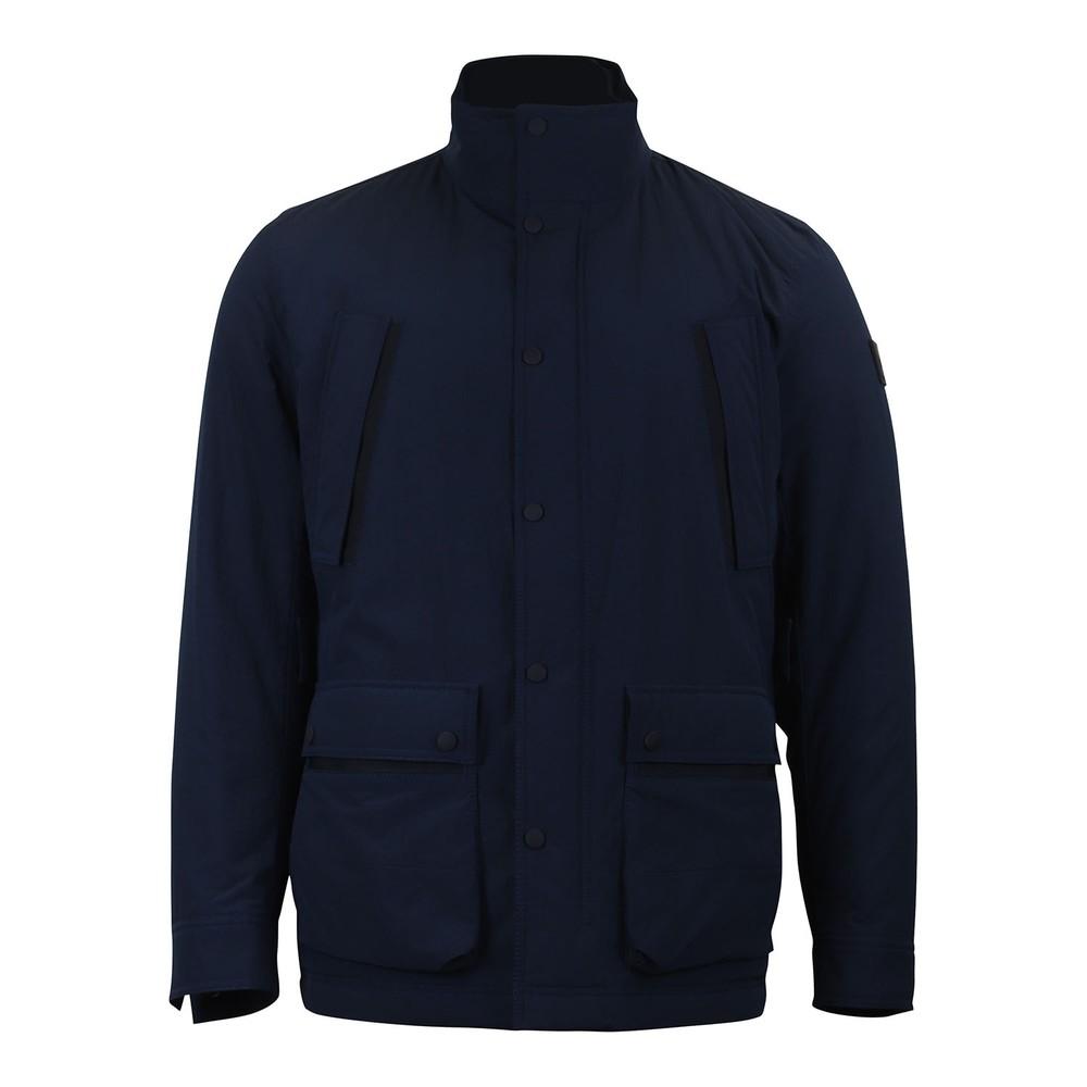 Hugo Boss Orove Waterproof Jacket Navy