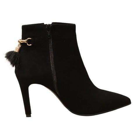 Aristocrat High Heel Ankle Boot with Tassel