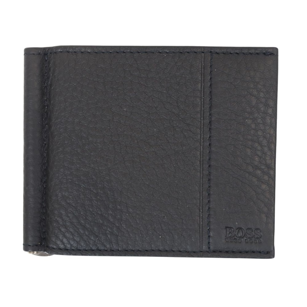 Hugo Boss Traveller_6 cc Clip Wallet Black