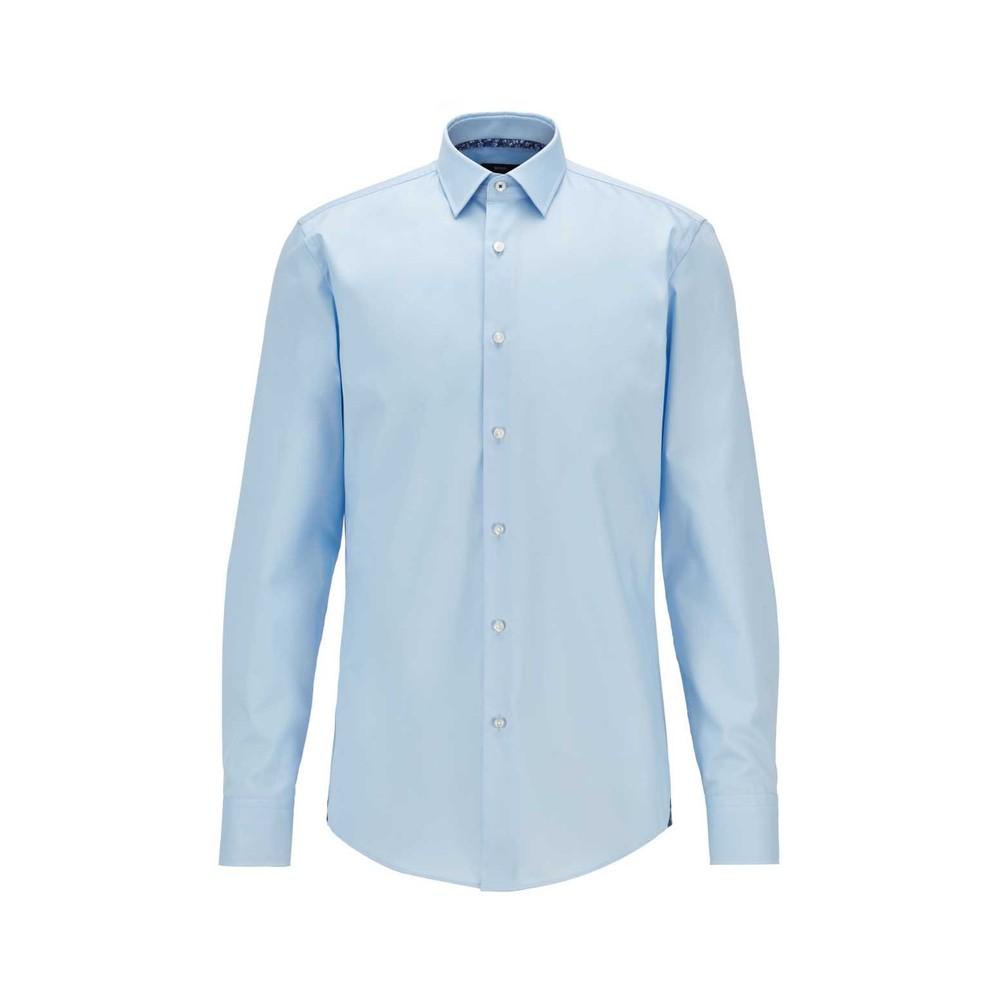 Hugo Boss Jesse Slim-Fit Shirt Light Blue
