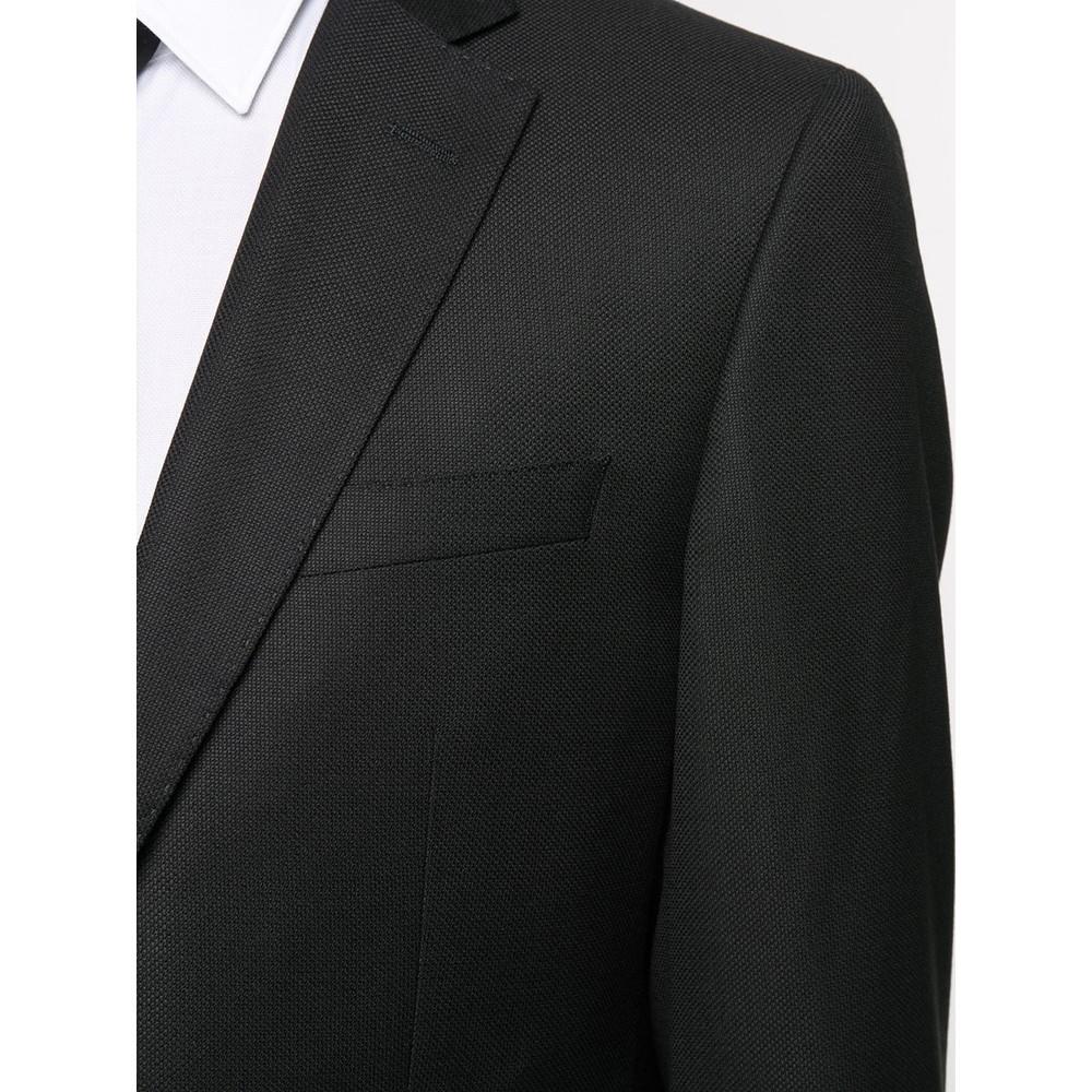 Hugo Boss Genius5 Two-Piece Wool Suit Black
