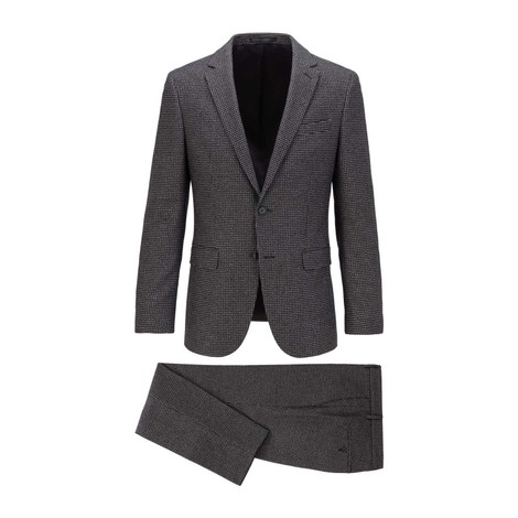 Hugo Boss Two-Piece Patterned Suit