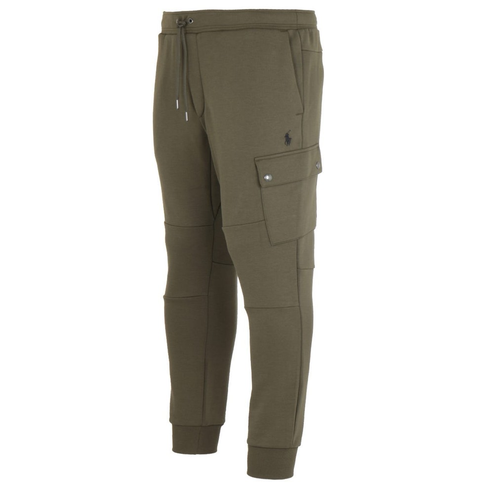 Ralph Lauren Menswear Cargo Sweatpants Olive