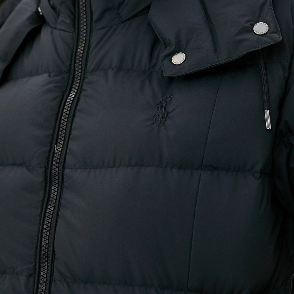 Ralph Lauren Womenswear Down Fill Coat Black