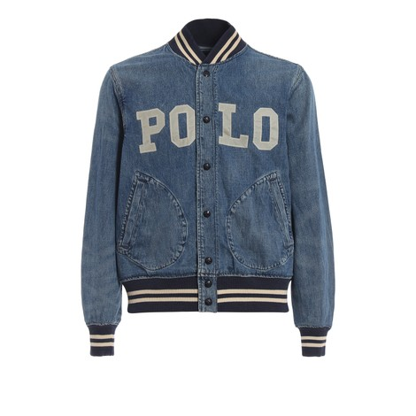 Ralph Lauren Menswear Varsity Denim Jacket