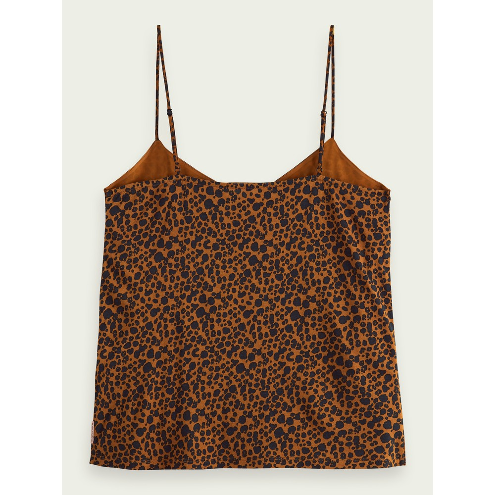 Scotch & Soda Mini Leopard Cami Animal Print