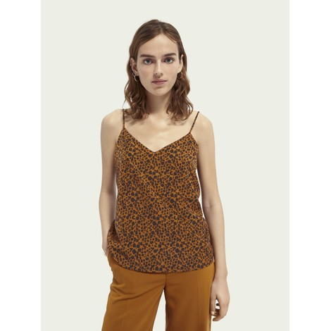 Scotch & Soda Mini Leopard Cami