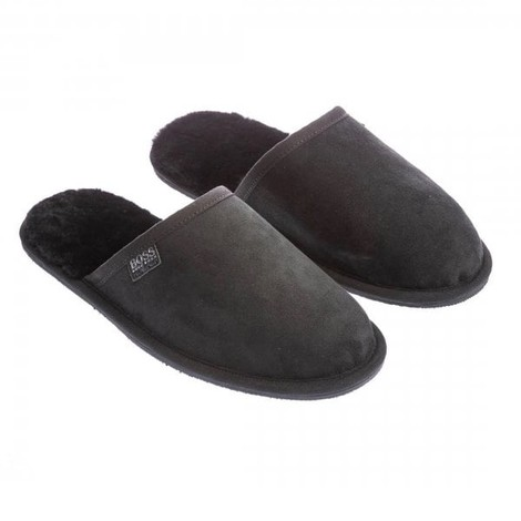 Hugo Boss Home Suede Slippers