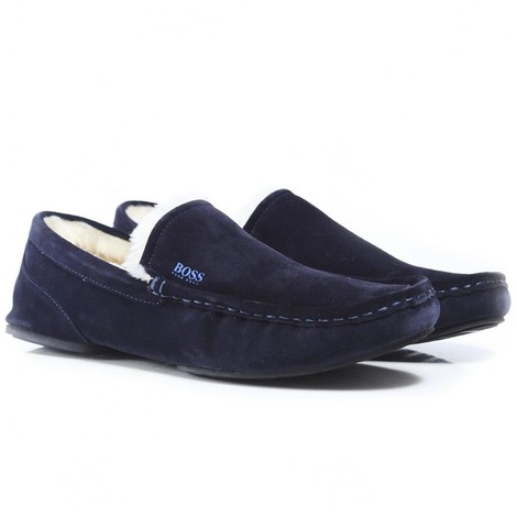 Hugo Boss Relax_Mocc Suede Slippers