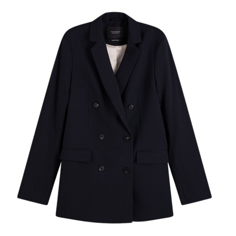 Scotch & Soda Long Double Breasted Blazer