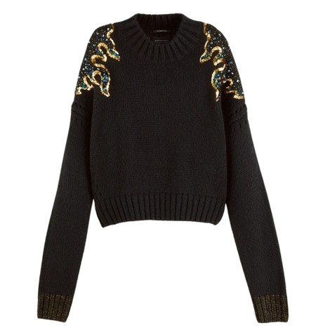 Scotch & Soda  Knit with Sequin Detail