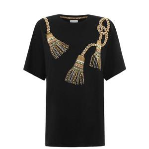 Hayley Menzies  Tassel Beaded T-Shirt