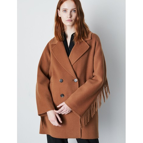 Marella Fringed Coat