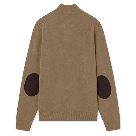 Hackett Lambswool Half Zip Sweater