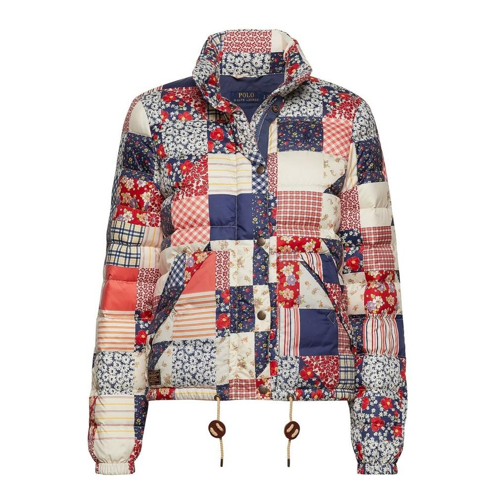Ralph Lauren Womenswear Patchwork Quilted Jacket Multi