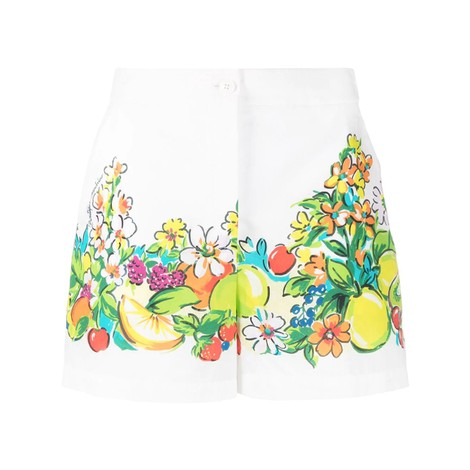 Moschino Boutique Fruit Pattern Shorts