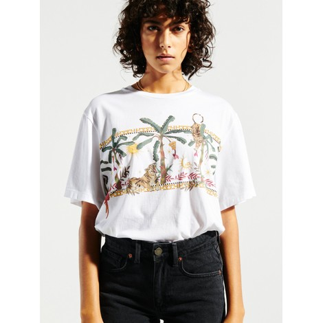 Hayley Menzies Jungle Safari Cotton T-Shirt