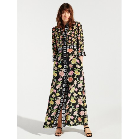 Hayley Menzies Dream In Colour Maxi Shirt Dress