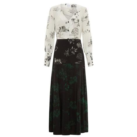 Hayley Menzies Elysian Fields Midaxi Panel Dress