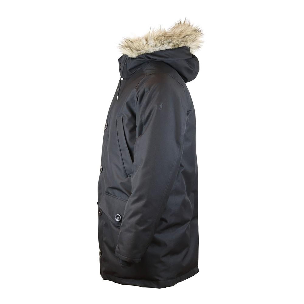 Ralph Lauren Menswear Glissade Down Parka Jacket Black