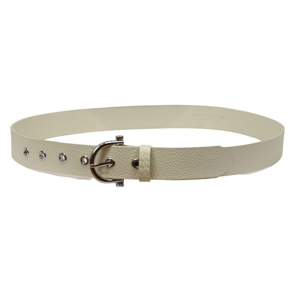 Scotch & Soda Leather Belt Cream