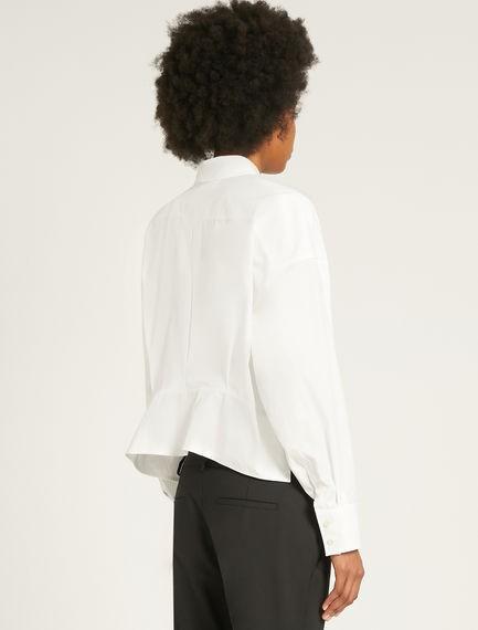 Sportmax Afide Cotton Blouse White